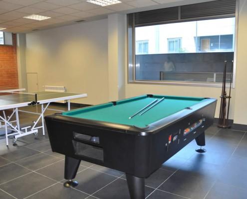 Ping-pong y billares