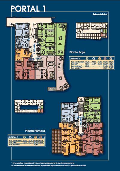 Plano portal 1 - Mirador de Eirís