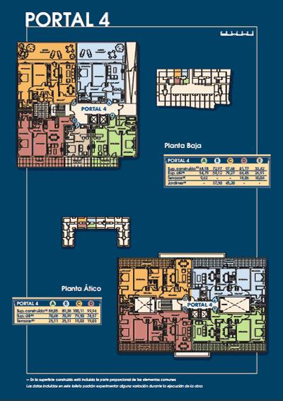 Plano portal 4 - Mirador de Eirís