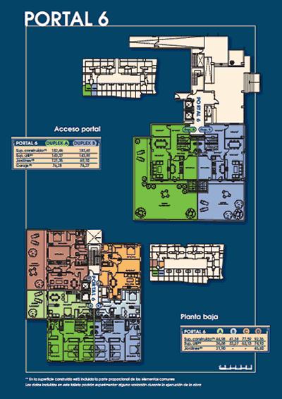 Plano portal 6 - Mirador de Eirís